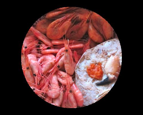 Reker & Krabbe-buffet